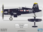 Warbirds Corsair N713JT by Scheme Designers